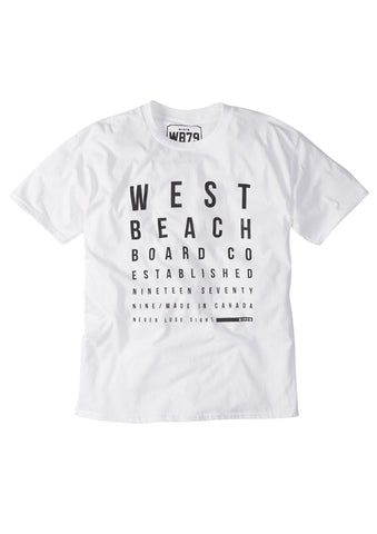 Eyetest Tee - White