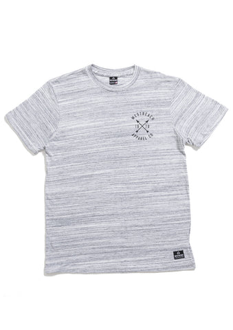 Fairfax Tee - Light Grey