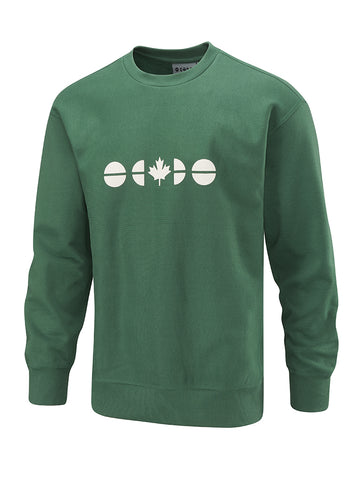 Flagdot 40 Sweatshirt - Hunter Green