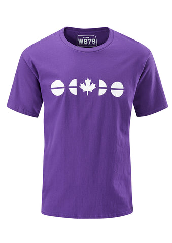 Flagdot Tee - Purple