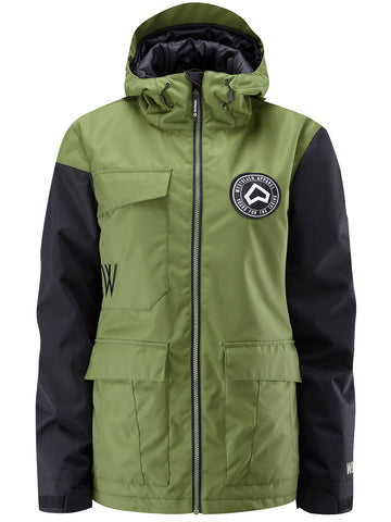 Flux Jacket - Combat Green
