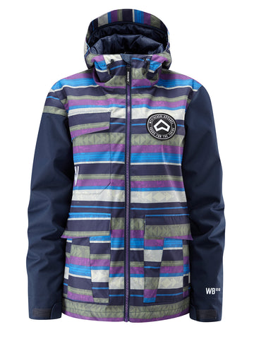 Flux Jacket - Multi Colour Aztec