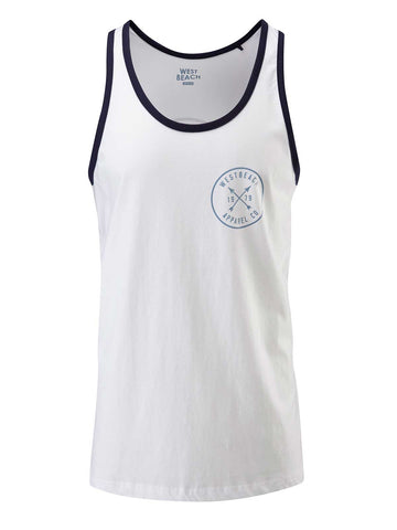 Get Around Vest - White