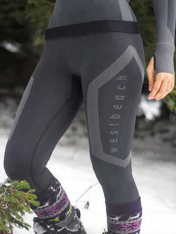 Womens Skinshield Zonal Baselayer Legging - Black