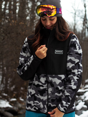 Glace Fleece - Winter Camo