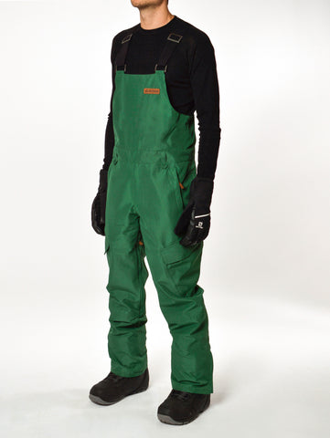 Kingman Bib Pant - Hunter Green