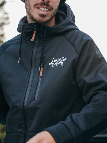Superpipe Waterproof Tech Hoodie - Black