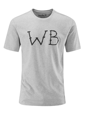 Wired Tee - Grey Marl