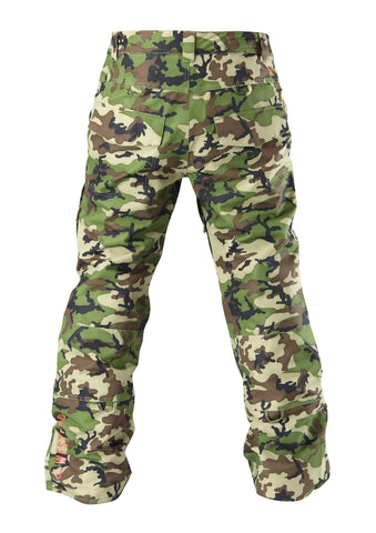 Wolf Pant Printed - Army Camo