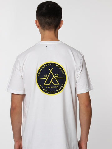 Outsider Tee - White