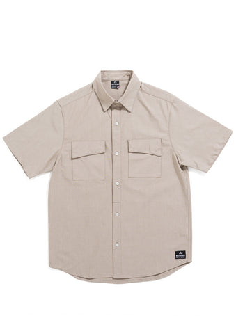 Sherman Short Sleeve Shirt - Camel