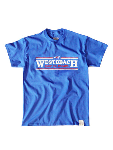 Surf Co Tee - Royal Blue