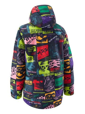 Tate Jacket Printed - Time Machine Print