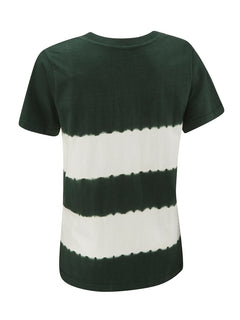 Hunter Green Stripe