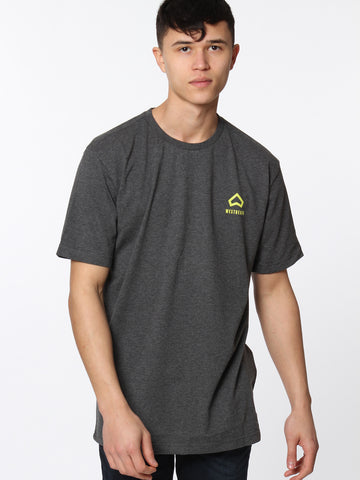Trailhead Tee - Charcoal Marl