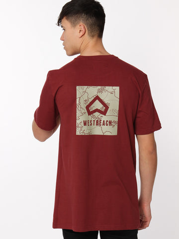 Trailhead Tee - Malbec Red