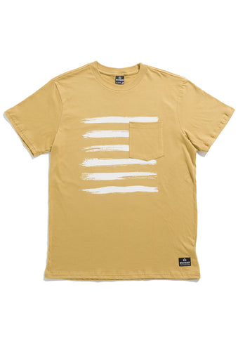Vermont Tee - Gold Light