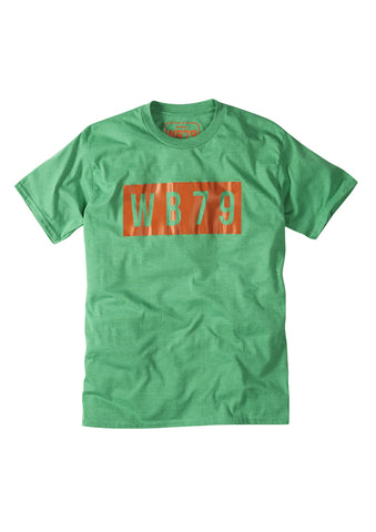 WB79 Tee - Heather Green