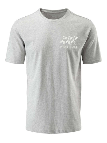 Board Mind Tee - Grey Marl