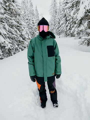 Pipeline Jacket - Hunter Green