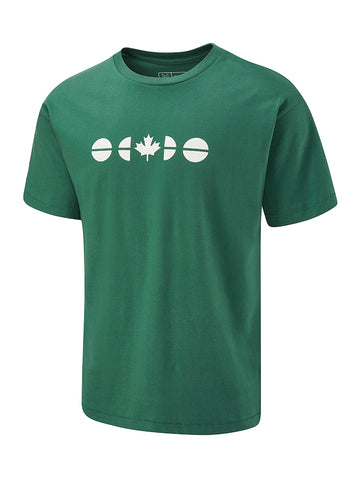Flagdot 40 Tee - Hunter Green