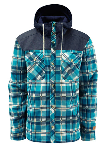 Molson Softshell - Seaweed Plaid