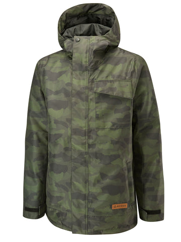 Pipeline Jacket Printed - Forest Camo
