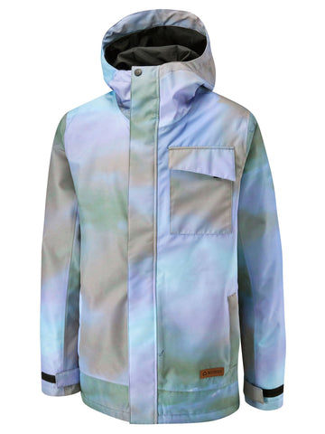 Pipeline Jacket Printed - Hazy Clouds