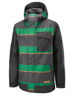 Hunter Green Super Stripe