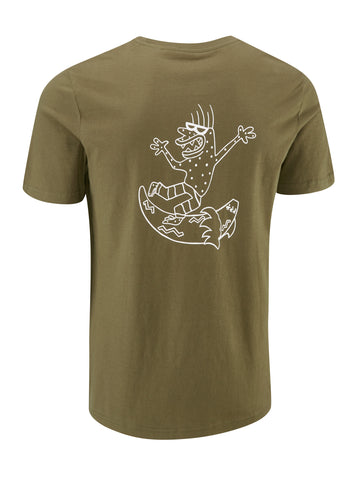 Six Toes Tshirt - Crocodile