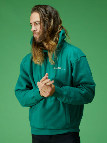 4th Ave Hoodie - Hunter Green