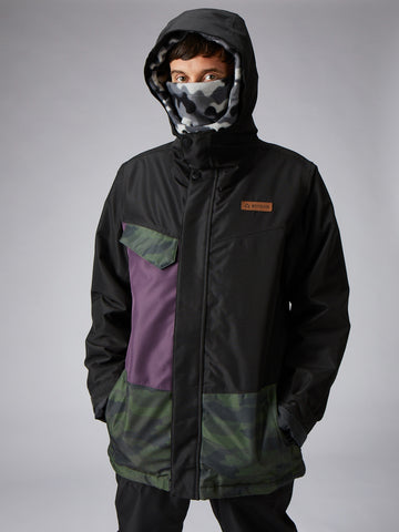 Horton Jacket - Black-Forest Camo