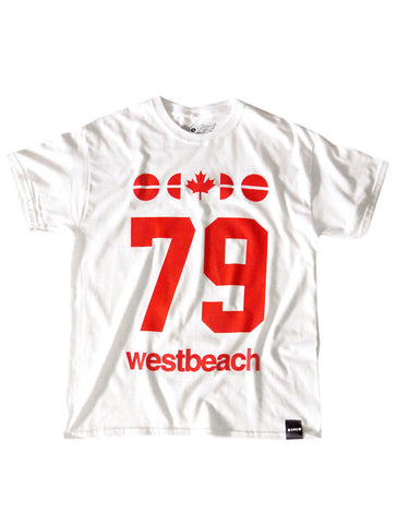 79 Tees Mens - White