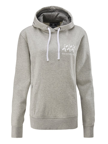 Womens Board Mind Overhead Hoodie - Grey Marl