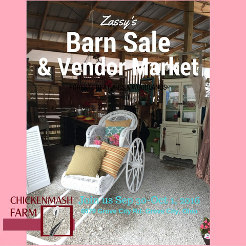 Zassy's Barn Sale & Vendor Market Grove City Ohio