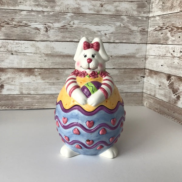 Easter Bunny Spring Candy Dish