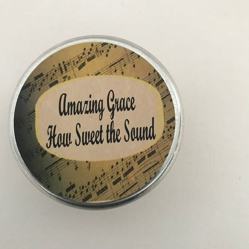 Amazing Grace Wooden Wick Candle | Inspirational Candle-Chickenmash Farm