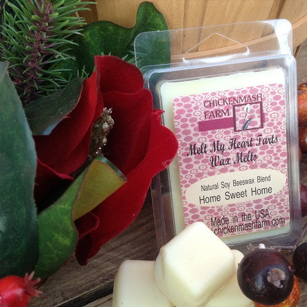 Home Sweet Home Candle Melts | Melt My Heart Tarts | Wax Melts-Chickenmash Farm