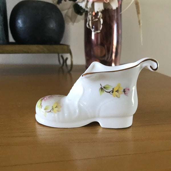 Decorative Porcelain Shoe