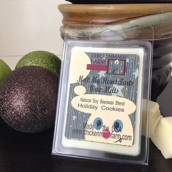 Holiday Cookies Candle Melts | Melt My Heart Tarts | Wax Melts-Chickenmash Farm