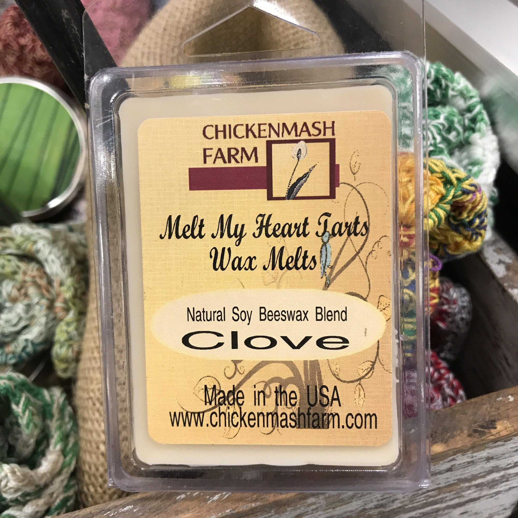 Clove Candle Melts | Melt My Heart Tarts | Wax Melts-Chickenmash Farm