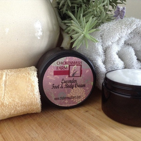 Lavender Foot & Body Cream - Chickenmash Farm