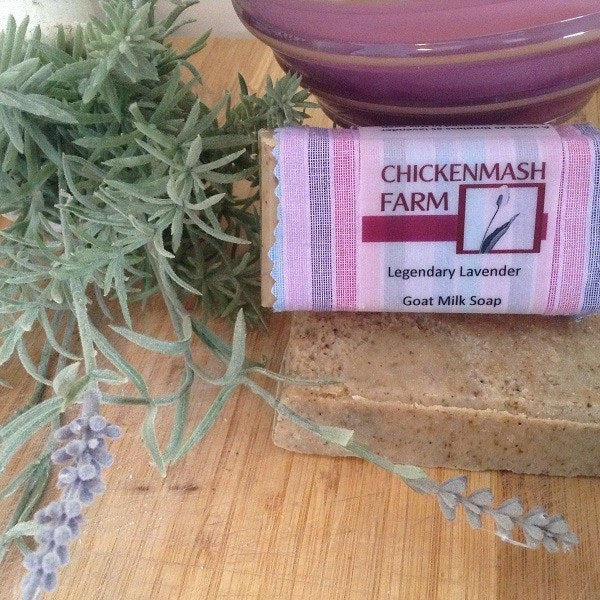 Lavender Soap | Legendary Lavender Handmade Soap-Chickenmash Farm
