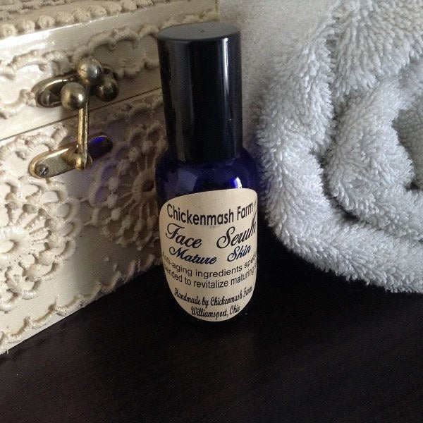 Maturing Skin Face Serum-Chickenmash Farm