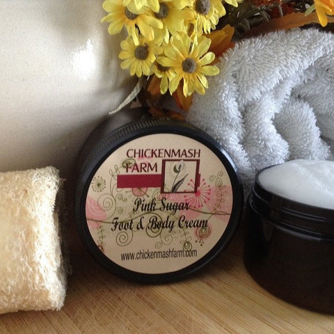 Pink Sugar Foot & Body Cream - Chickenmash Farm