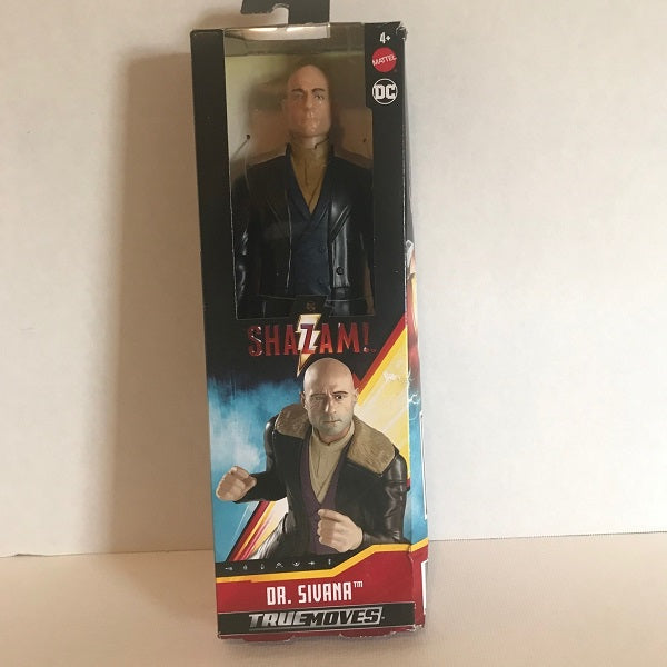 "Shazam 12"" Action Figure Dr. Sivana True Moves DC Action Figure-Chickenmash Farm"