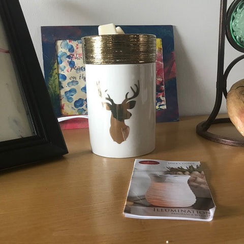 Deer candle warmer