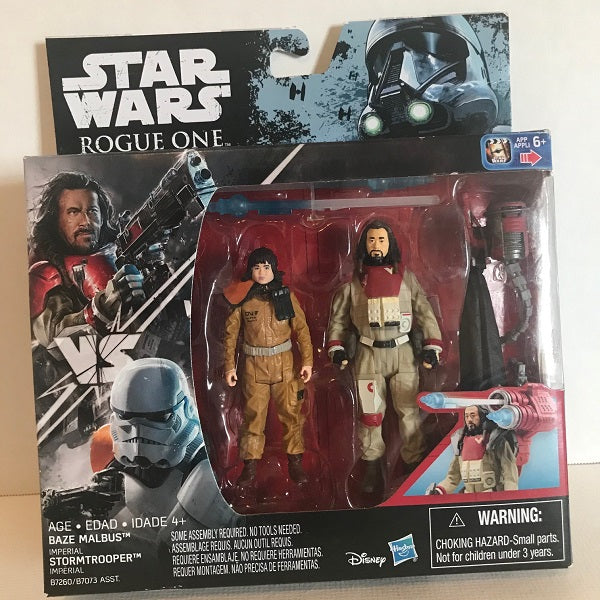 Star Wars Action Figures Baze Malbus and Rose