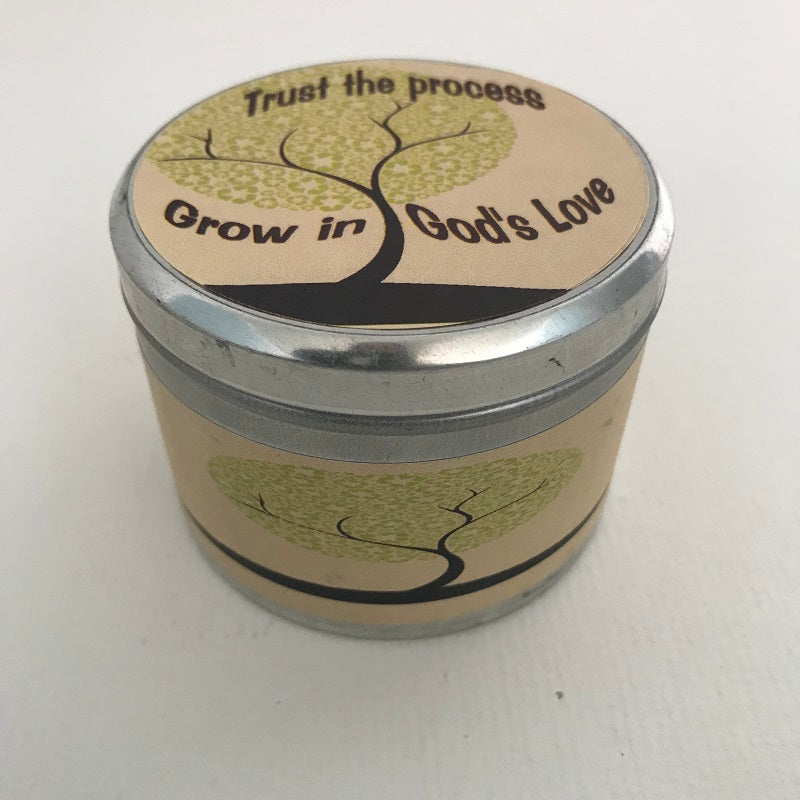 Grow in God's Love Inspirational Candle | Pearberry ...