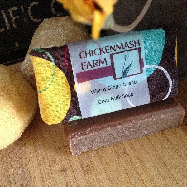 Warm Gingerbread Goat Milk Soap-Chickenmash Farm
